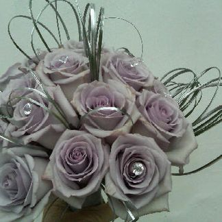 Ocean song lilac rose bouquet
